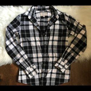 Banana Republic 100% cotton flannel shirt Sz XS